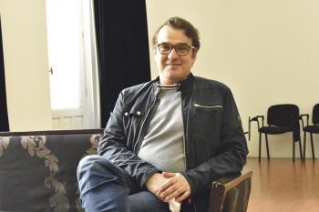 El actor vuelve a las tablas del Teatro Cofidís Alcázar con 'El método Grönholm', acompañado de Marta Belenguer, Jorge Bosch y Vicente Romero