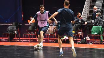 El equipo de Tino Pérez ya está en Zadar (Croacia), donde jugará la Final a 8 de la Champions
