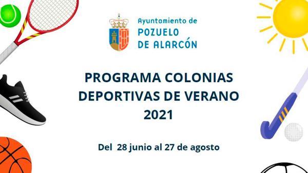 Abiertas las preinscripciones del programa Colonias Deportivas de Verano en Pozuelo