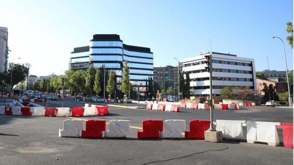 Ha finalizado la primera fase de la reurbanización del eje Joaquín Costa-Francisco Silvela, una obra de 10,2 millones de euros