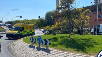 El conductor ha sido trasladado al hospital de Alcorcón