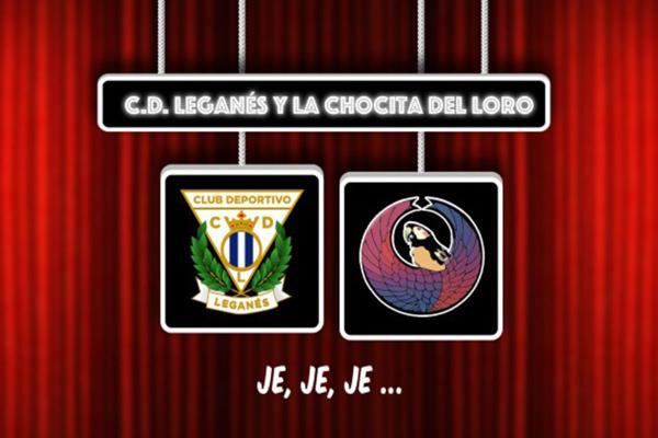 Acuerdo entre el CD Leganés y La Chocita del Loro