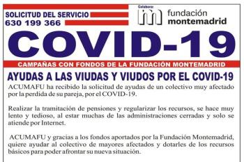 La asociación dará estas ayudas gracias a los fondos aportados por la Fundación Montemadrid