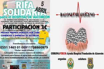 La AD Alcorcón colabora con colectivos y empresas de la ciudad en campañas de recogida de fondos para el Hospital Fundación de Alcorcón