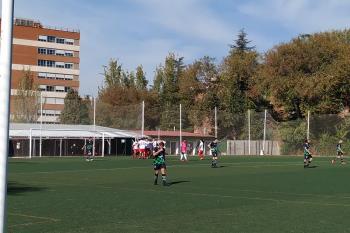 La AD Complutense volvió a sumar tres puntos en su estadio en una victoria muy trabajada en la que destacaron Alex García, Pau Echarri y Malagón