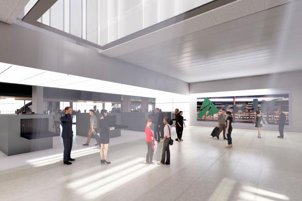 Las obras suponen la construcción de cuatro vías más para alta velocidad, y la ampliación y remodelación del vestíbulo de la estación