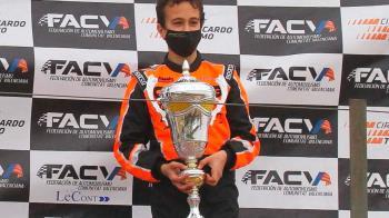 El joven ha conseguido el tercer puesto con un tiempo de 12:33:805
