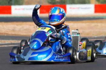 El piloto getafense de karting continúa con su progresión
