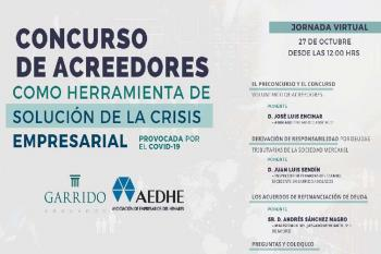 En esta mesa redonda se darán herramientas que podrían ayudar a solventar la crisis empresarial provocada por la Covid-19