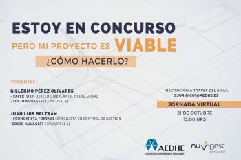 La Asociación de Empresarios del Henares se une a esta compañía de gestión de concursos de acreedores en un evento online