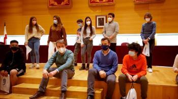 El grupo ha visitado el Ayuntamiento de Tres Cantos