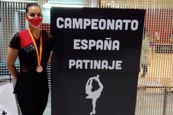 La patinadora de Alcobendas ha representado a la Comunidad de Madrid