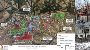 Desastre medioambiental en la zona urbana del municipio