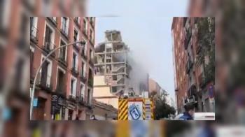 Hace unos minutos se registraba una gran explosión en un edificio de la calle Toledo