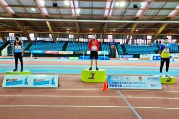 El atleta getafense quedó segundo en el Campeonato de España Sub-16