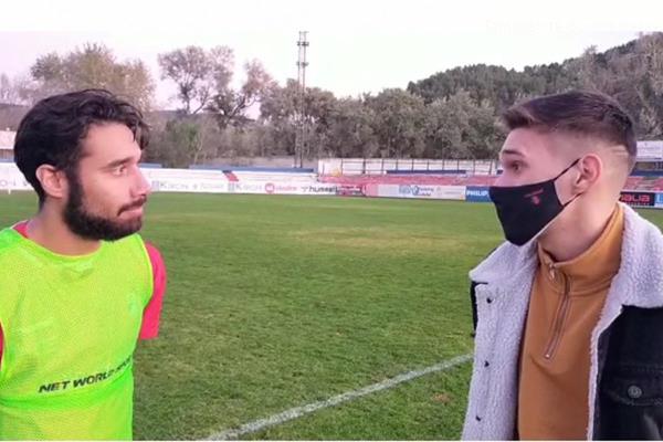 """Alberto Benítez: """"Este resultado al equipo le va a reforzar porque hemos hecho un buen partido"""""""