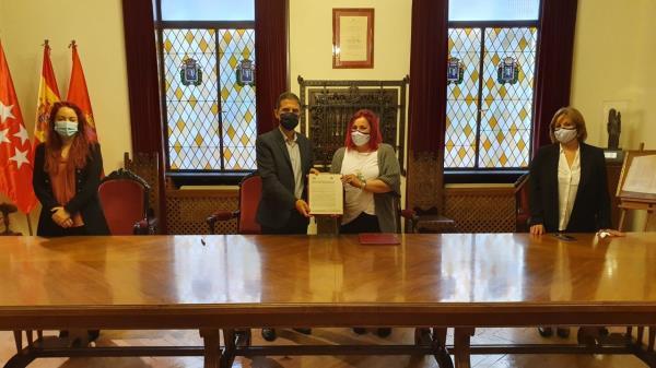 Alcalá firma un convenio de colaboración con AFA