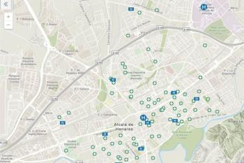 Los servicios se encuentran geolocalizados bajo un Sistema de Información Geográfica (GIS)