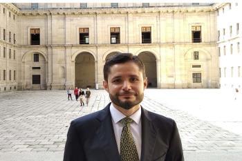 Rafael Maldonado de Guevara, abogado del Colegio alcalaíno, realizó una investigación objeto de atención para los participantes