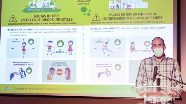 Alcalá reabre las zonas infantiles y deportivas