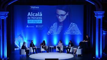 Ayuntamiento, Universidad y Telefónica se unen en un encuentro virtual junto a empresas alcalaínas