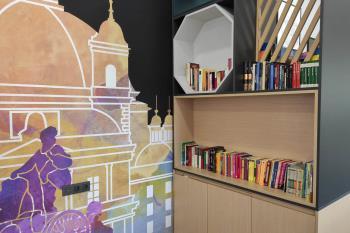 Estos libros han sido donados por lo ciudadanos de Alcobendas