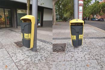 Se han dispuesto varios contenedores de reciclaje en ciertos puntos de la localidad