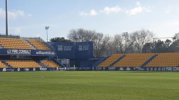 """El AD Alcorcón ha ofrecido llevar a cabo, con recursos propios, una """"ambiciosa reforma"""" del estadio"""