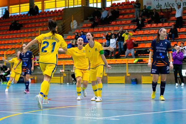 Las chicas del Alcorcón F.S.F. están clasificadas para las semifinales