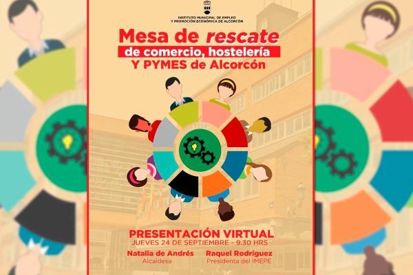 Alcorcón impulsa una mesa para el rescate de comercio, hostelería y pymes