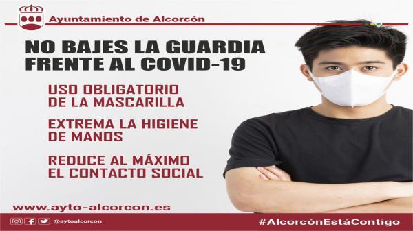Alcorcón pide mantener las medidas de protección