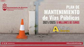 El Ayuntamiento de Alcorcón ha impulsado un Plan de Mantenimiento en las calles de la ciudad con un doble propósito de mejora