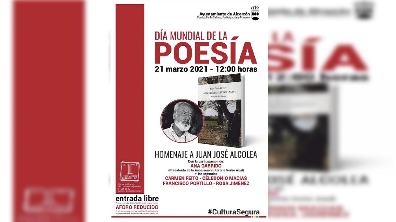 Alcorcón celebra el Día Mundial de la Poesía