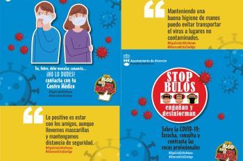 La campaña para concienciar a los jóvenes de Alcorcón