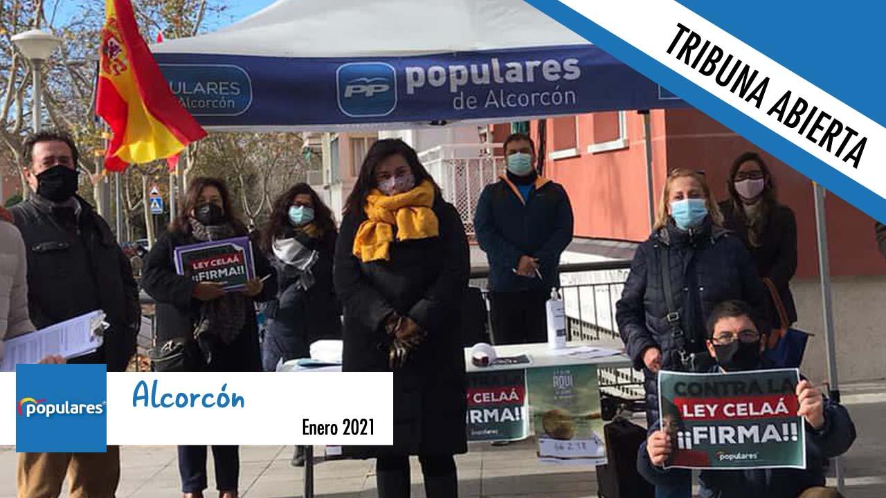 Opinión | El grupo municipal del Partido Popular en Alcorcón nos remite su tribuna de enero