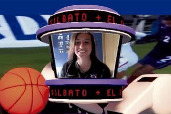 La joven futbolista alcalaína del Atlético de Madrid repasa en Televisión de Madrid su pasión por el fútbol, sus objetivos y la salud del fútbol femenino