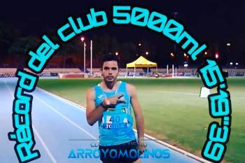 El deportista del Atletismo Arroyomolinos brilló durante la prueba celebrada en Sevilla