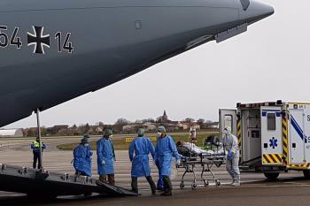 El Gobierno español pidió ayuda prioritaria con el material sanitario a través de EADRCC a la OTAN.