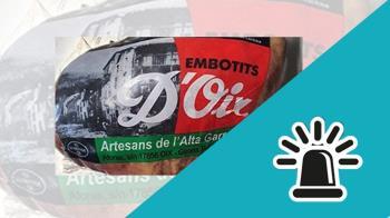 Los productos, elaborados en Cataluña, están siendo retirados del mercado