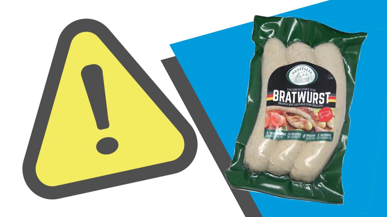 Evita consumir estas salchichas si tienes alergia a la proteína de la leche
