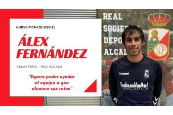 El jugador llega procedente del CP Villarrobledo y fue el máximo goleador de la tercera madrileña la pasada temporada