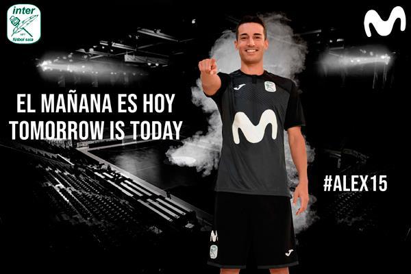 Álex González sí seguirá en el Movistar Inter la próxima temporada