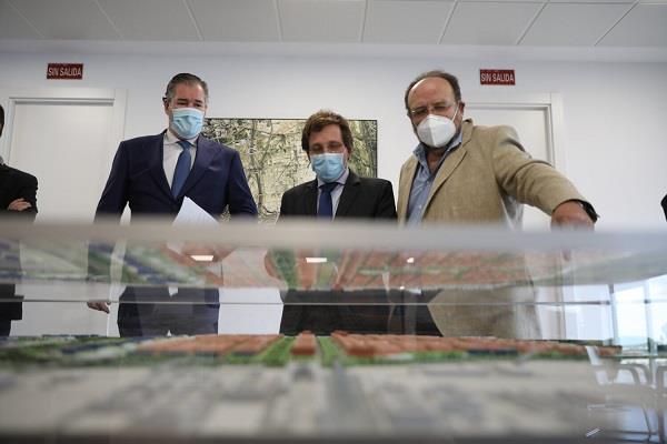 Almeida visita el desarrollo de Los Berrocales, que creará más de 22.000 nuevas viviendas