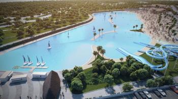 Este espacio ofrece una gran variedad de actividades y... ¡más de 20.000 metros cúbicos de agua!