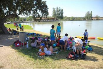 Los niños empadronados en el municipio están participando masivamente durante el mes de julio