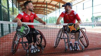 Los dos palistas ripenses figuran, por separado, entre las ocho mejores parejas del país en la modalidad de silla de ruedas