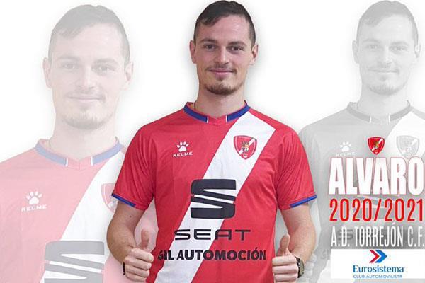 Álvaro Sánchez ficha por la AD Torrejón