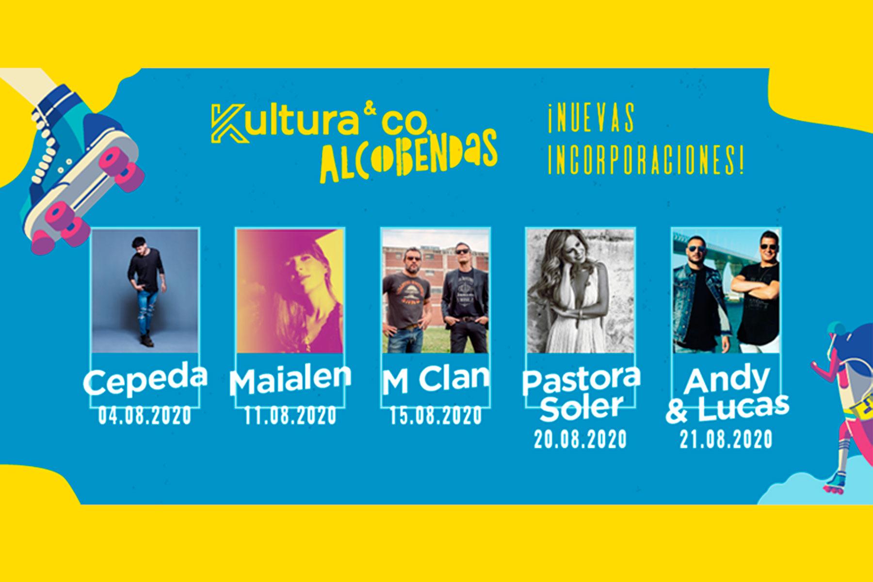 El plan de ocio de nuestra ciudad anuncia cinco artistas para completar el cartel del mes de agosto