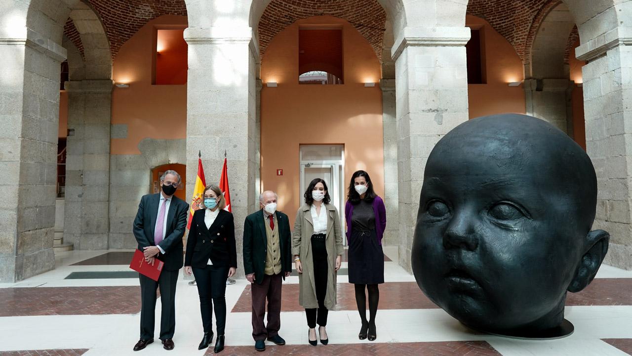 Homenaje a uno de los artistas españoles más relevantes y vinculados con Madrid, se podrá visitar hasta el 20 de junio