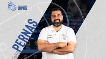 El técnico seguirá al frente del Baloncesto Leganés las dos próximas temporadas